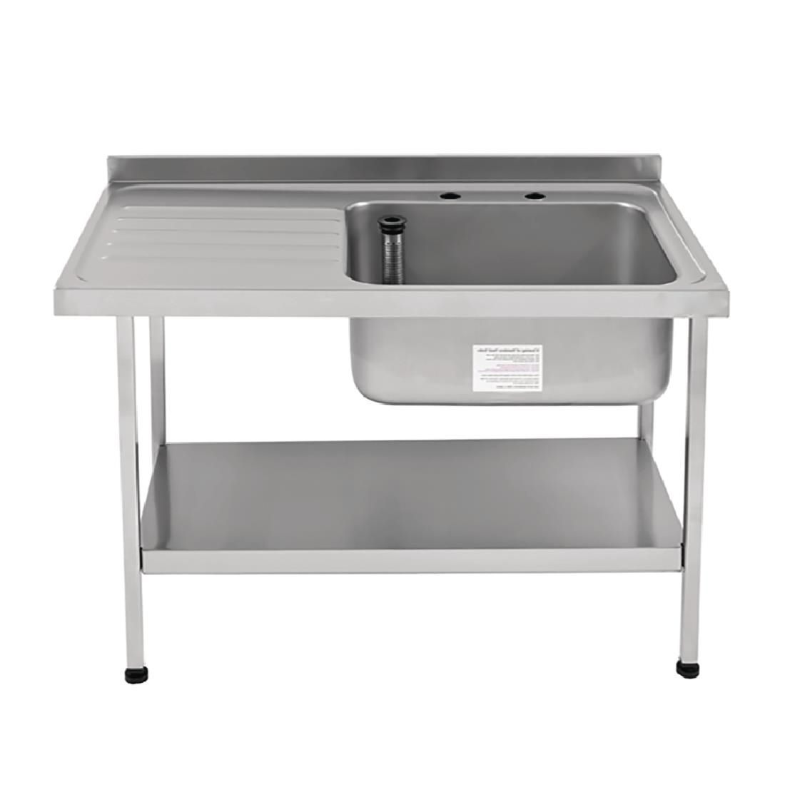 Franke Self Assembly Stainless Steel Sink Right Hand Bowl 1200x 650mm - P366